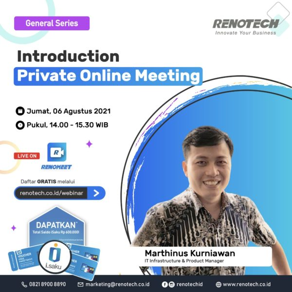 webinar introduction private online meeting
